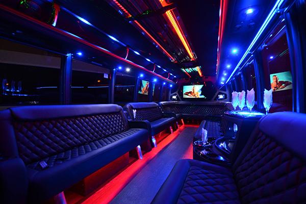 40 passenger party bus rental new jersey