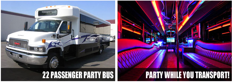 airport transportation party bus rentals jersey city
