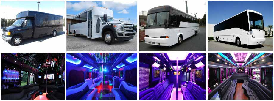 charter bus party buses jersey city
