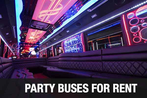 wedding transportation party bus jersey city