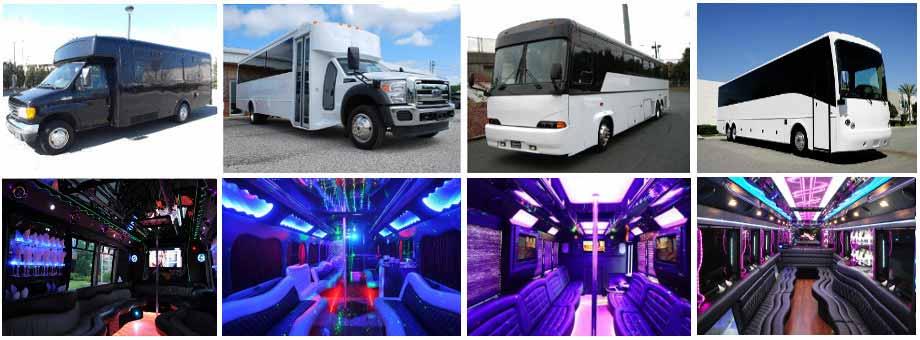 wedding transportation party buses jersey city